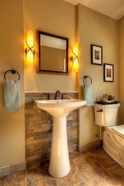 stylish bathrooms  pedestal sinks