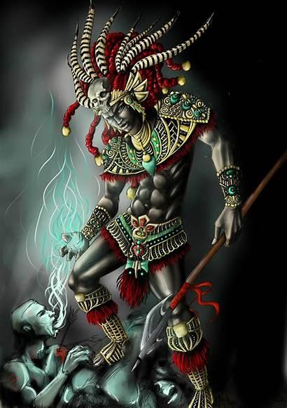 Aztec Warrior Tattoo Drawing