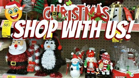 walgreens musical christmas large ornament shop with me walgreens decorations stuffers 2017