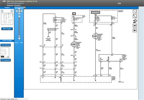do you a wiring diagram of the engine performance and