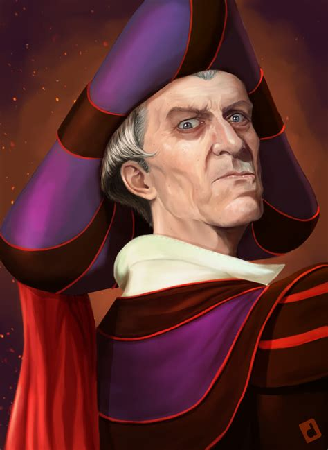 Claude Frollo The Archdeacon Of Notre Dame By