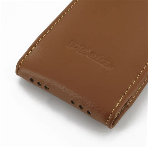 leather iphone 5 iphone 5 5s leather sleeve pouch brown pdair 10