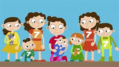 Siblings Brother Sister Seven Clipart Unity