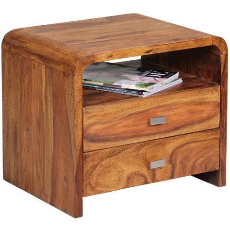 le de chevet chambre table de chevet en bois massif de palissandre avec 1