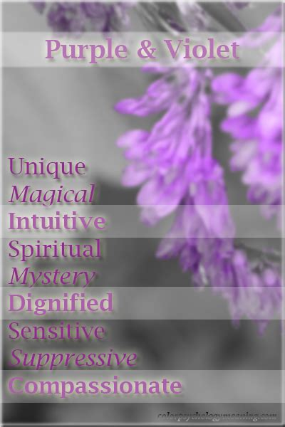 purple meaning of color color purple violet color psychology personality meaning
