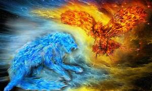 Cool Fire and Ice Wallpapers - WallpaperSafari