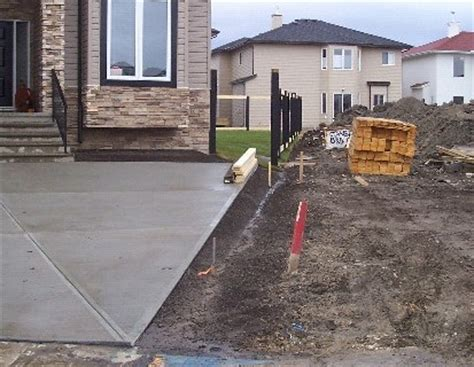 driveway swale drainage swales residential city of edmonton