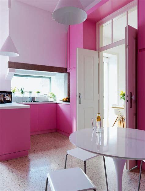 top  cocinas en color rosa decorar tu casa es