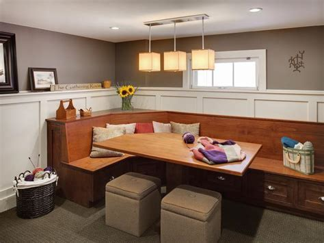 HomeOfficeDecoration   L shaped kitchen table with bench