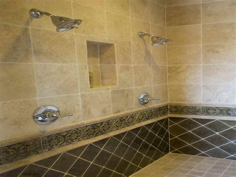 Two Shower Bathroom by Granite Tiles For Bathroom Shower Designs Design Ideas