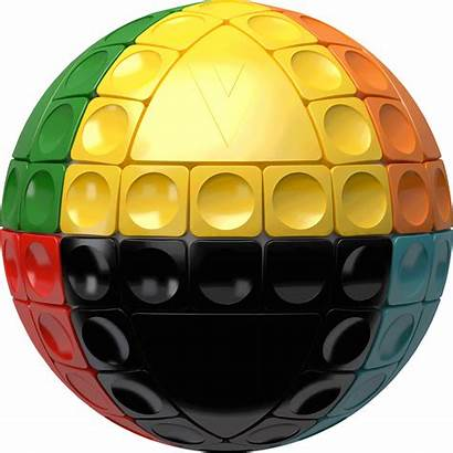 Cube Sphere Puzzle Sliding 3d Spherical Rubik