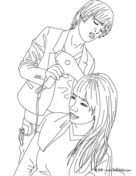hairstyle coloring pages hellokidscom