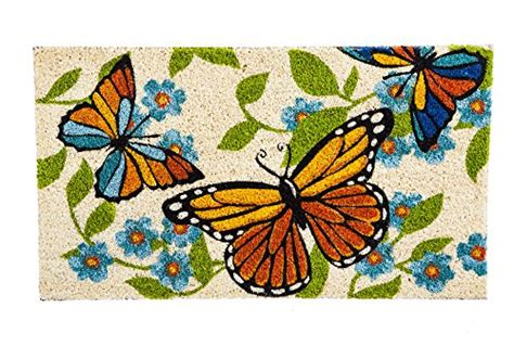 butterfly doormat butterfly doormats kritters in the mailbox butterfly