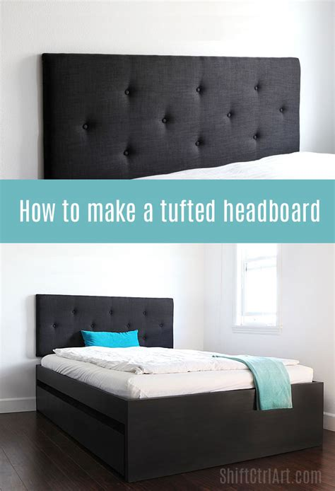 how to make a padded headboard how to make a tufted headboard