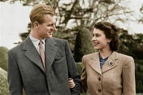 Karaliene Elizabete II un princis Filips. FOTO toreiz un ...