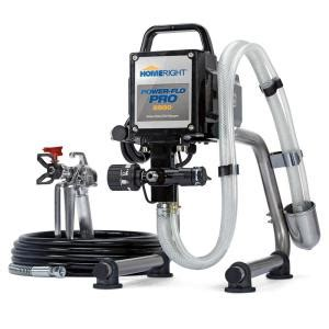 homeright power flo pro  airless paint sprayer   home depot