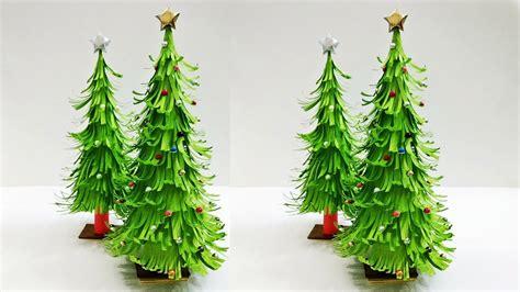 paper christmas tree christmas tree decorations ideas