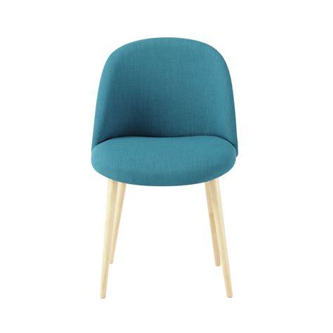 maisons du monde chaises chaise vintage bleue mauricette 79 chez maison du monde