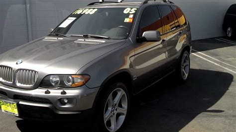 Used 2005 Bmw X5 4.4i V8 (for Sale Stk#