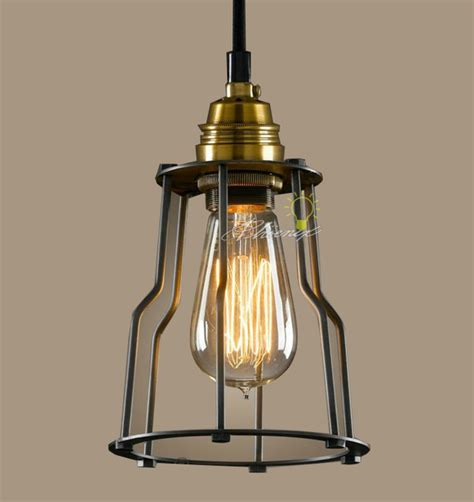 modern industrial and iron line pendant lighting