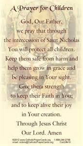 St. Nicholas Prayer for Children