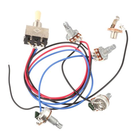Wiring Harness Way Toggle Switch Pots Jack