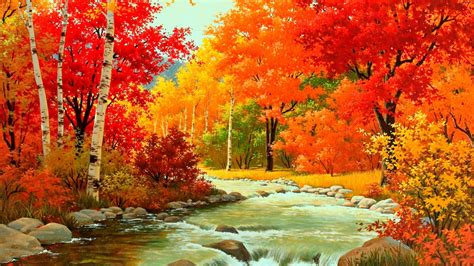 1080p Fall Desktop Backgrounds Hd by Hd Autumn Wallpapers Wallpaper Cave