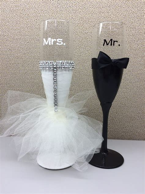 1000 images about wedding wine glasses on pinterest