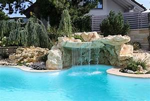 Wasserfall Für Pool : gartengestaltung und gartenum nderungen ~ Michelbontemps.com Haus und Dekorationen