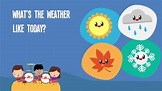What's The Weather Like Today | Kids songs, Weather song ...
