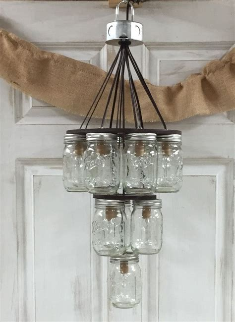 Chandelier Jar by Jar Chandelier 3 Tier Places Masons And Products