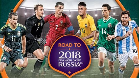 World Cup All Teams Fifa Russia Youtube