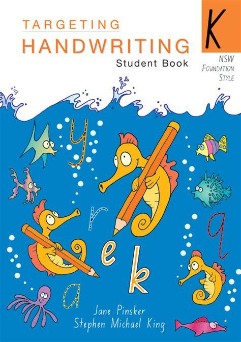 targeting handwriting nsw student book year  pascal press