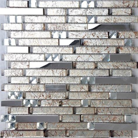 Kitchen Mosaic Tile Backsplash by Stainless Steel Tile Glass Mosaic Kitchen Backsplash Tiles