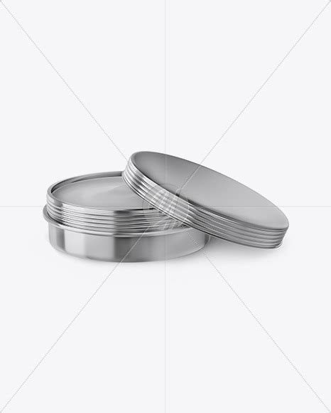 With each mockup in the cart you pay 1$ less for the next mockup. Cosmetic Metallic Cream Can Mockup in Jar Mockups on ...