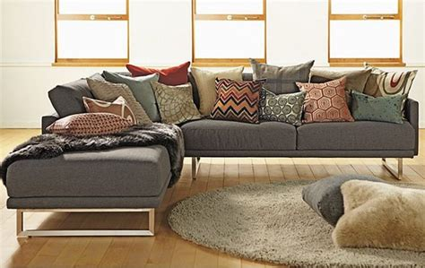 Modern Pillows For Sofas Accent Couch And Pillow Ideas For