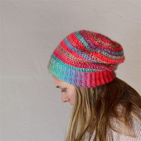 crochet beanie crochet in color unforgettable hat
