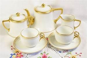 William Gu U00e9rin Limoges France Tea Set   Limoges By Vieuxcharmes