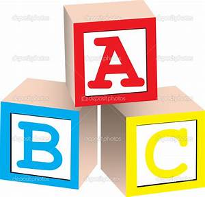 alphabet building blocks clipart 33 With blocks with letters