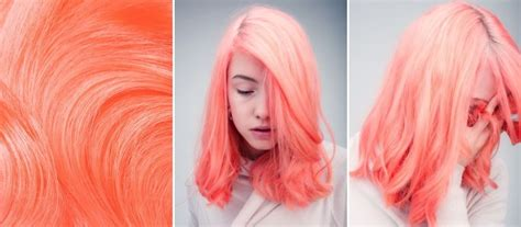 Neon Peach Hair Prefect For This