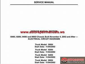 Keygen Autorepairmanuals Ws  International Truck 5000i 9200i 9400i And 9900i Chassis Built