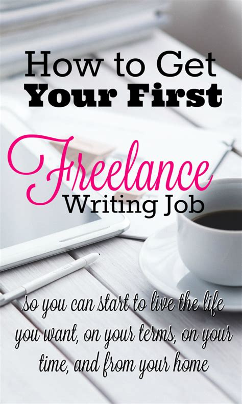 how to get your freelance writing mba sahm