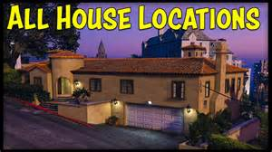 GTA 5 Online House Locations
