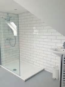 tiny ensuite bathroom ideas our ensuite white metro tiles interiors