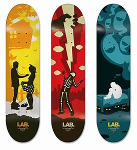 100+ Epic Examples of Skateboard Art