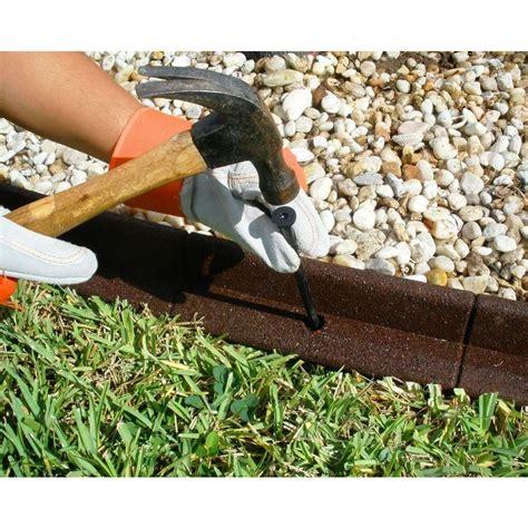 ecoborder  ft brown rubber landscape edging ecobrd brn