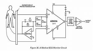 ecg circuit projects collection With ecg circuit