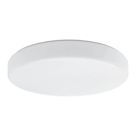 eglo palomaro white led ceiling light 93386a the home depot