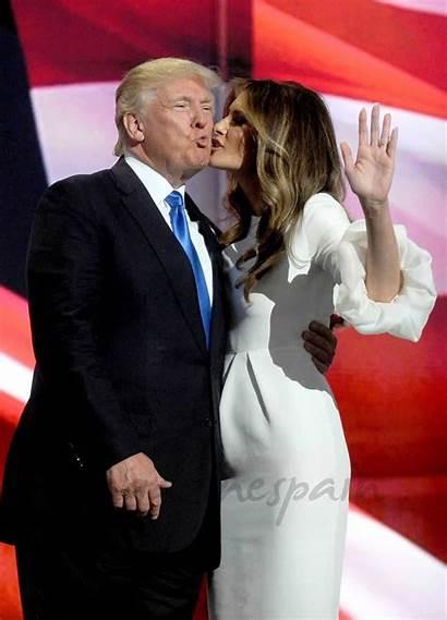 Trump Melania Donald Knauss Esposa Primera Dama