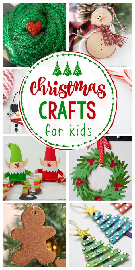 easy christmas crafts  kids crazy  projects
